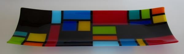 mondrian channel platter