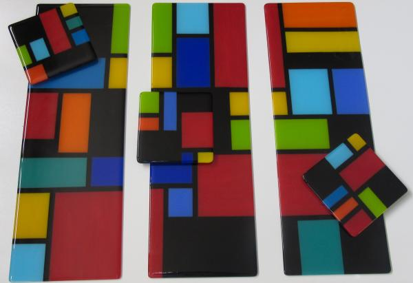 mondrian with a spin